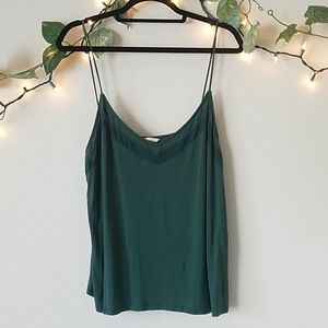 H&M Green Tank Top